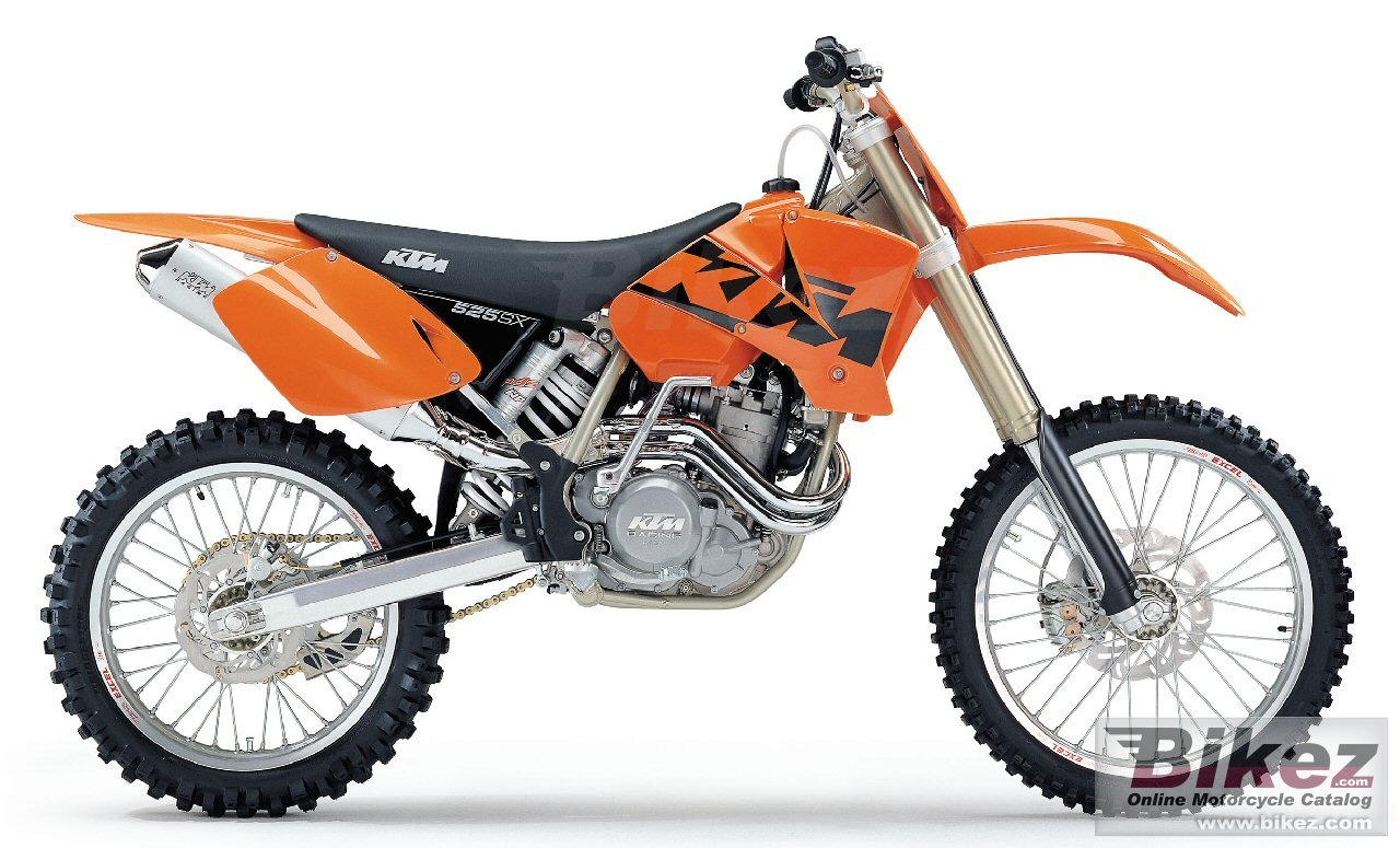 The respective copyright holder or manufacturer 525 sx racing