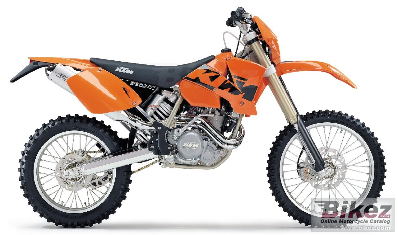 The respective copyright holder or manufacturer 250 exc racing