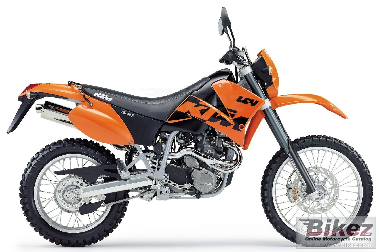 Big The respective copyright holder or manufacturer 640 lc4 enduro picture and wallpaper from Bikez.com