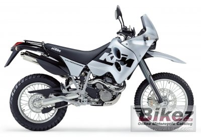 Adventure Motorcycle Reviews on 2003 Ktm 640 Adventure