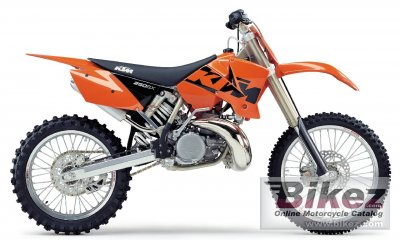 2003 ktm 250 sx specifications and pictures