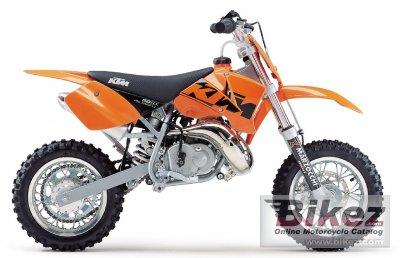 2003 KTM 50 SX Pro Junior LC