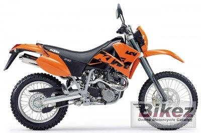 2003 KTM 640 LC4 Enduro