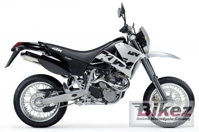 2003 KTM 640 LC4 Supermoto specifications and pictures