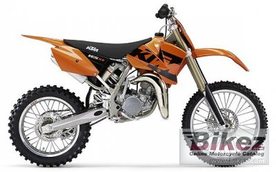 2004 ktm 105 sx specifications and pictures