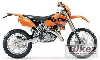 2004 KTM 125 EXC