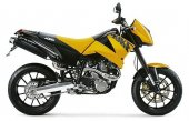 2004 KTM 640 Duke II Yellow/Black