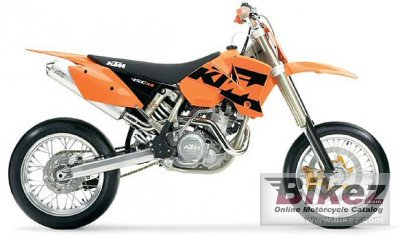 2004 KTM 450 SMC USA photo