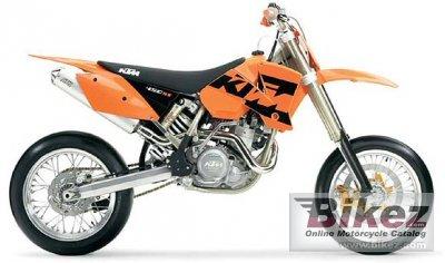 2004 KTM 450 SMC USA