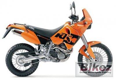 2004 KTM 640 LC4 Adventure