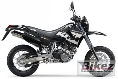 2004 KTM 640 LC4 SUPERMOTO PRESTIGE specifications and ...