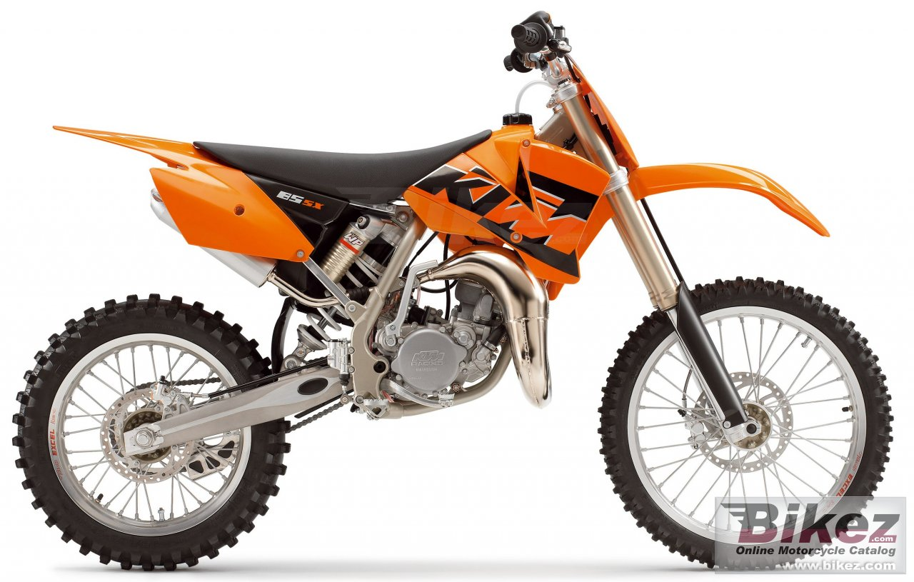 Big KTM 85 sx (19-16) picture and wallpaper from Bikez.com