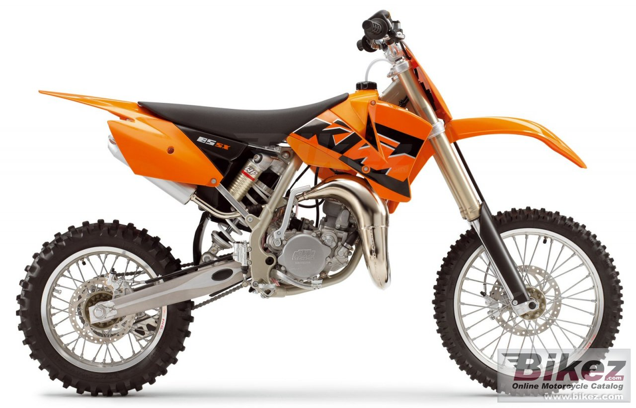Big KTM 85 sx (17-14) picture and wallpaper from Bikez.com