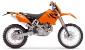 2005 KTM 525 MXC Desert Racing photo