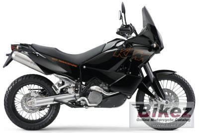 2005 KTM 950 Adventure Black photo