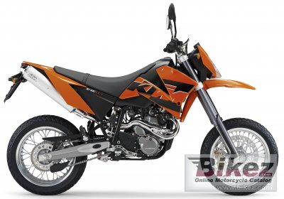 2005 KTM 640 LC4 SMC Orange photo
