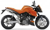 2005 KTM 990 Super Duke Orange photo