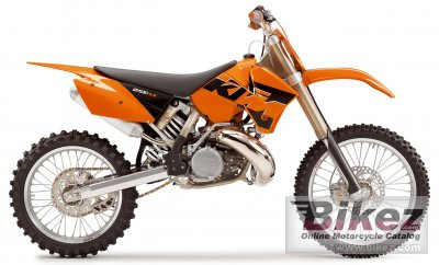 2005 ktm 250 sx specifications and pictures