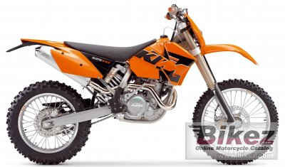 2005 ktm 525 exc racing specifications and pictures