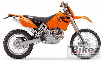 KTM 525 MXC Desert Racing: pics, specs and list of seriess by year ...