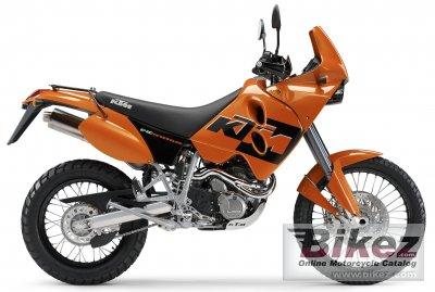 2005 KTM 640 LC4 Adventure