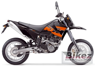2005 KTM 640 LC4 SMC Black specifications and pictures