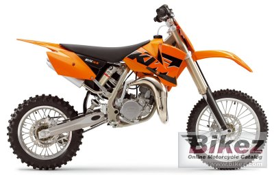 2005 ktm 85 sx (17/14) specifications and pictures