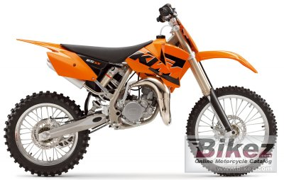 2005 Ktm 85 Sx 19 16 Specifications And Pictures