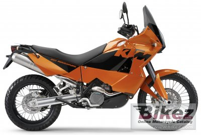 2005 ktm 950 adventure orange specifications and pictures