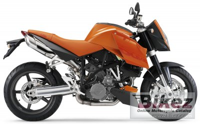 2005 KTM 990 Super Duke Orange