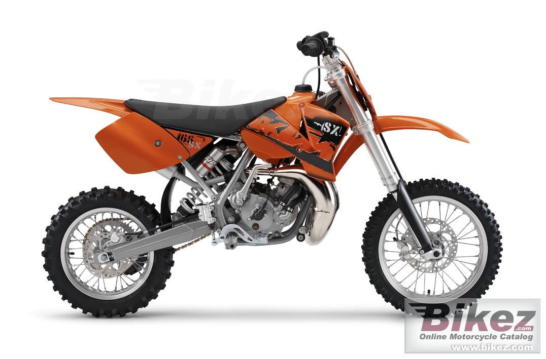 Big KTM 65 sx picture and wallpaper from Bikez.com