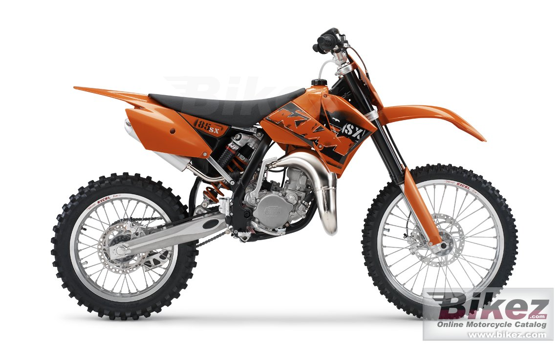 Big KTM 85 sx picture and wallpaper from Bikez.com