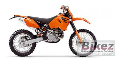 2006 KTM 525 XC Desert Racing photo