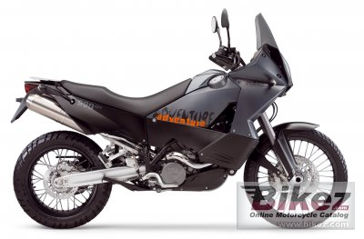 2006 KTM 990 Adventure Black photo