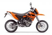 2006 KTM 640 LC4 Supermoto Orange photo