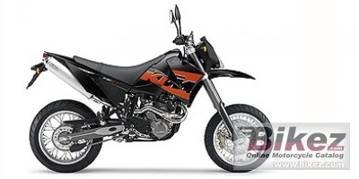 2006 KTM 640 LC4 Supermoto Black photo