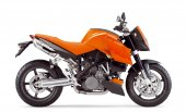 2006 KTM 990 Superduke Orange