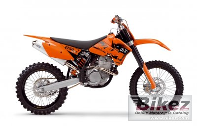 2006 ktm 250 sx-f specifications and pictures