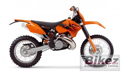 2006 KTM 300 EXC specifications and pictures