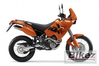 2006 KTM 640 Adventure