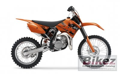 2006 Ktm 85 Sx Specifications And Pictures