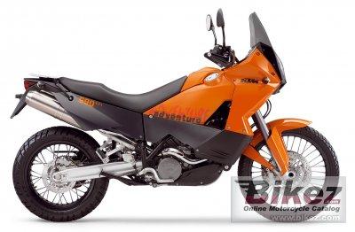 2006 KTM 990 Adventure Orange