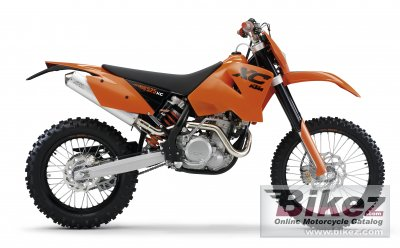 2007 KTM 525 XC Desert Racing photo