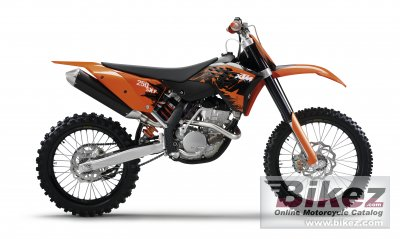 2007 ktm 250 sx-f specifications and pictures