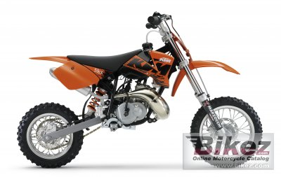 2007 KTM 50 SX specifications and pictures