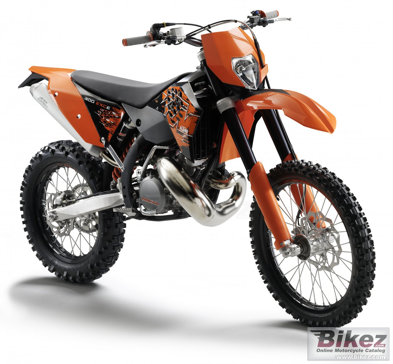Big KTM 300 exc-e picture and wallpaper from Bikez.com