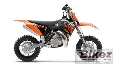 2008 KTM 50 SX Junior