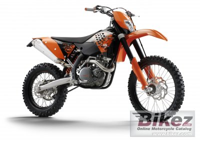 2008 KTM 530 EXC-R specifications and pictures
