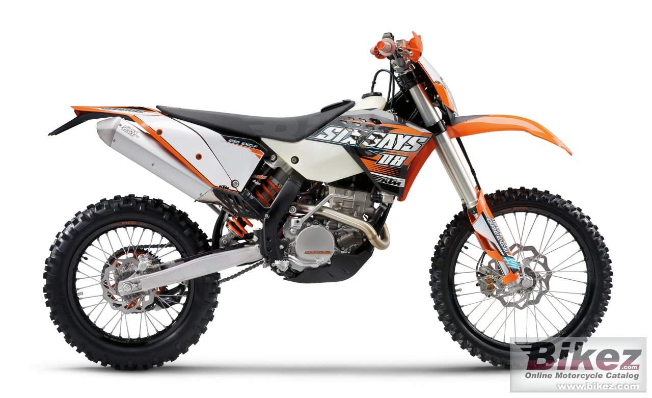Big KTM 250 exc-f sixdays picture and wallpaper from Bikez.com