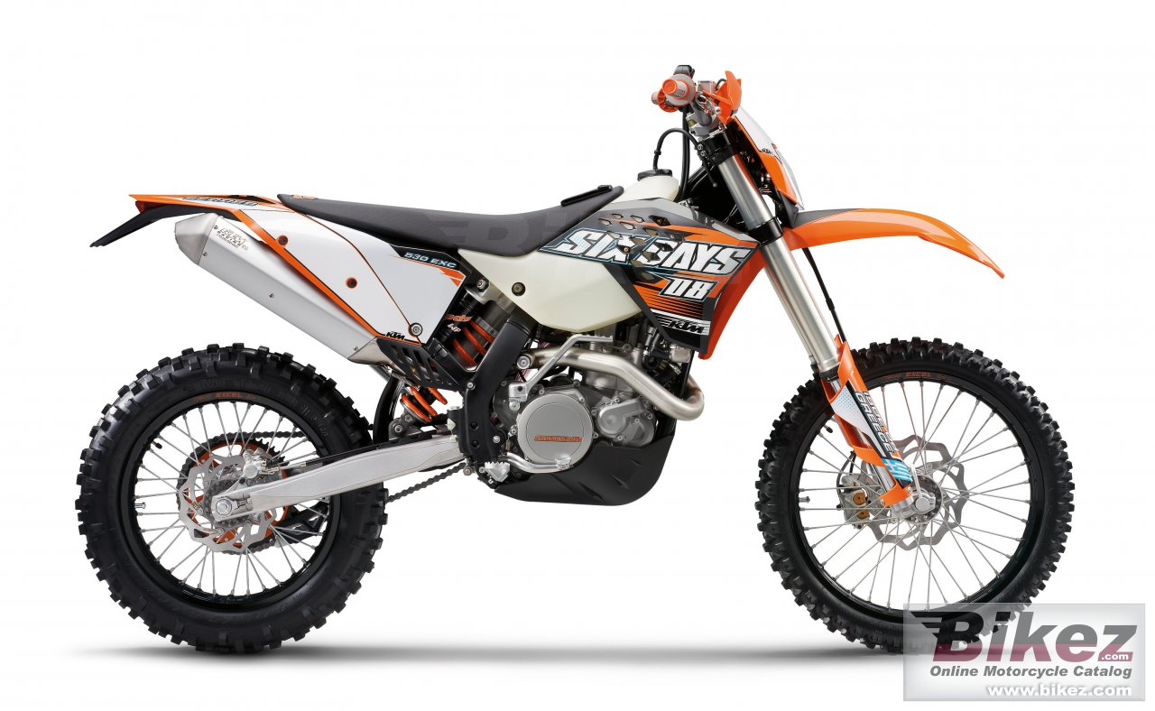 Big KTM 530 exc sixdays picture and wallpaper from Bikez.com